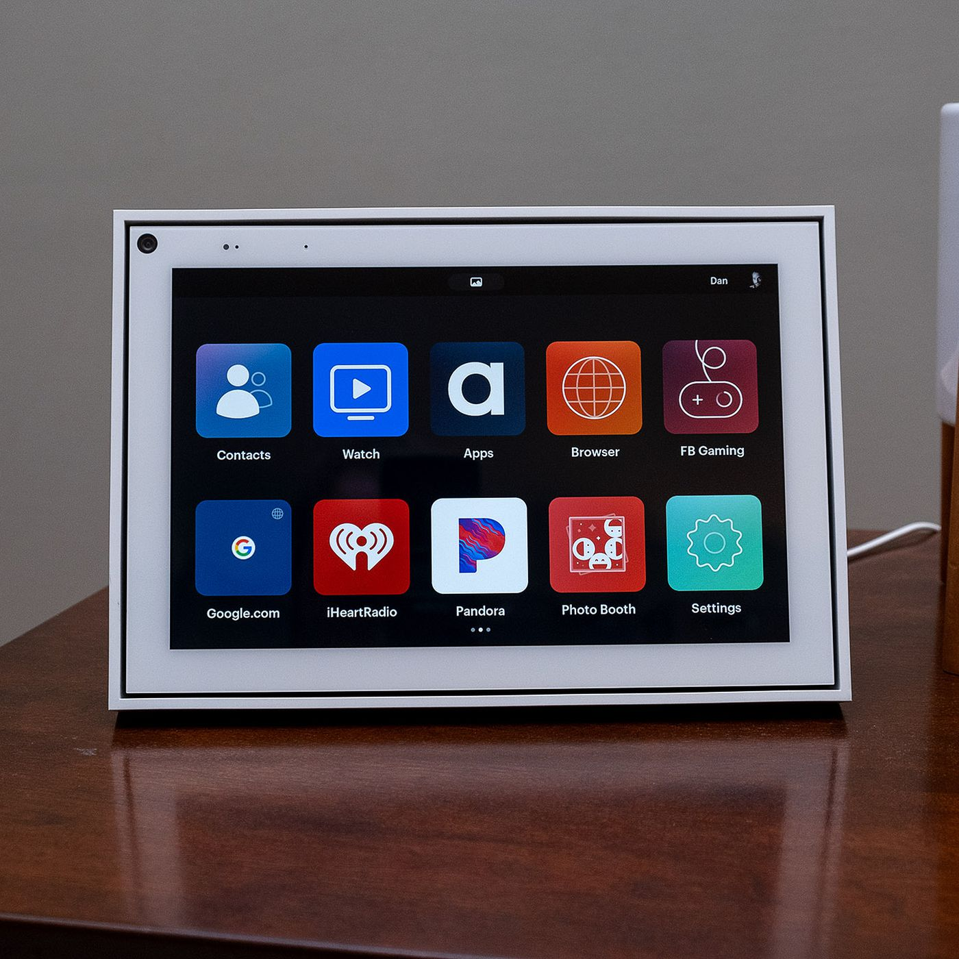 Facebook Portal 10 Inch 2019 Review Better Design Familiar Limitations The Verge We went hands on with the new smart home device. facebook portal 10 inch 2019 review
