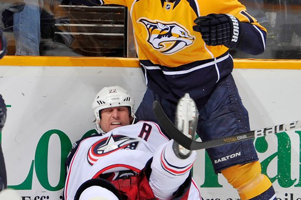 Is this the year when Martin Erat leads the Preds in scoring for the first time?
