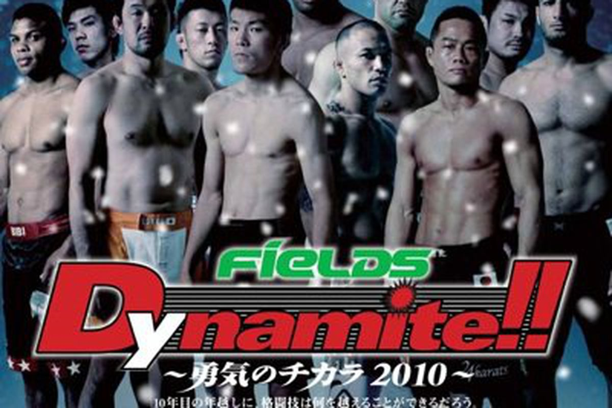 Perhaps the last stand for MMA in Japan?