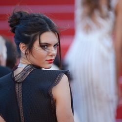 Kendall Jenner in Azzedine Alaia