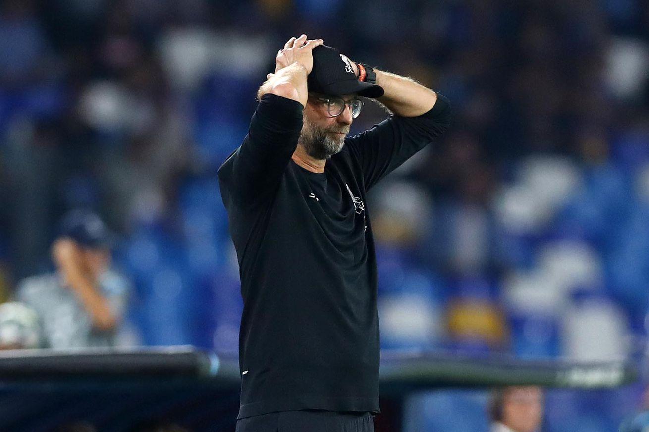 SSC Napoli v Liverpool Fc - UEFA Champions League