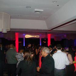 The main ballroom at the Chefs Ball.