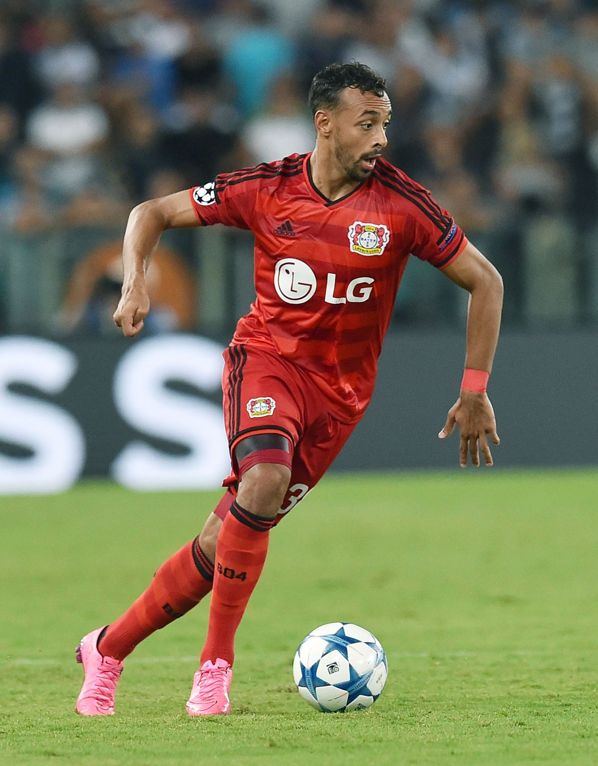 SS Lazio v Bayer Leverkusen - UEFA Champions League: Qualifying Round Play Off First Leg