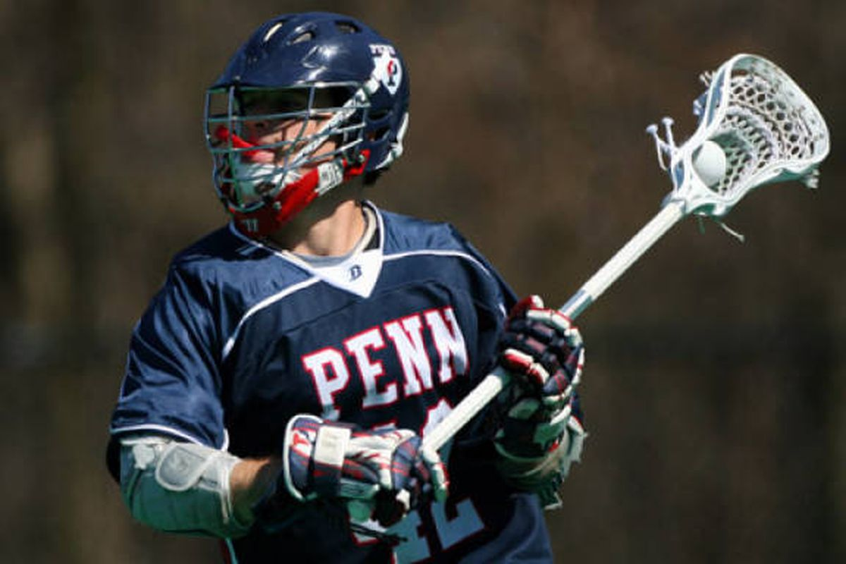 Senior Attackman Corey Winkoff led the Quakers in scoring in 2010 with 41 points