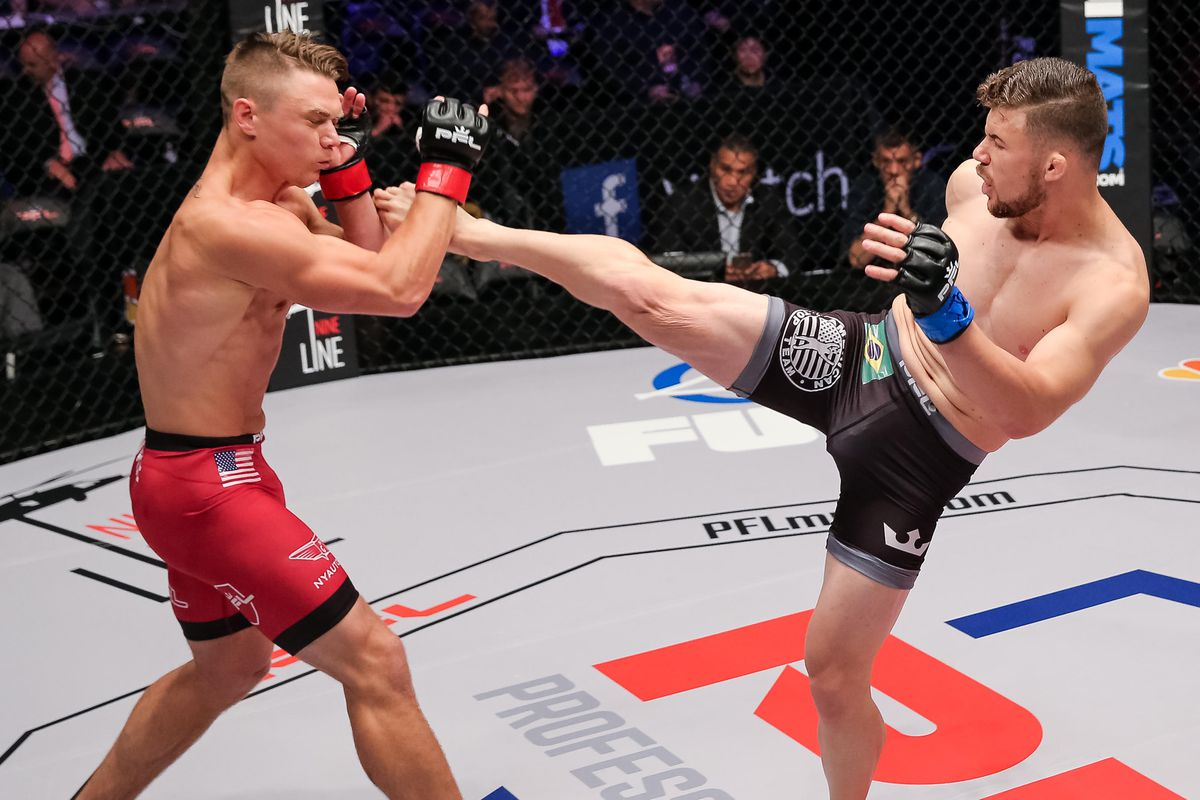 Fighting a teammate in PFL GP final boosts Natan Schulte's