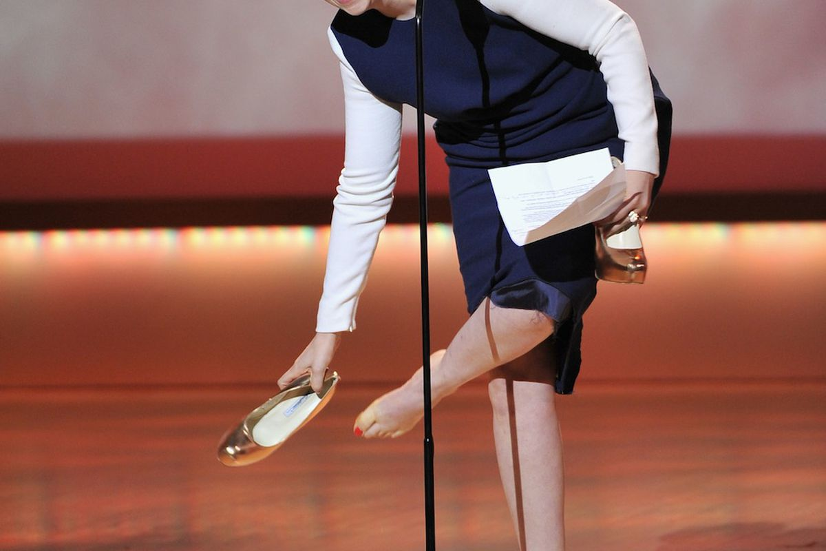 Lena Dunham couldn't handle her Atwoods, via Getty