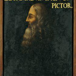 """Here's Leo landing the cover of highly esteemed magazine """"Leonard Vs. Vinci Vs. Pictor"""" in 1613-1621."""