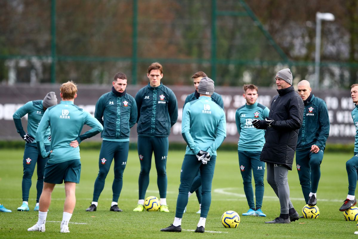 Saints manager Ralph Hasenhuttl running Southampton Training ahead of Newcastle United away Premier League match how to watch on tv stream online team news