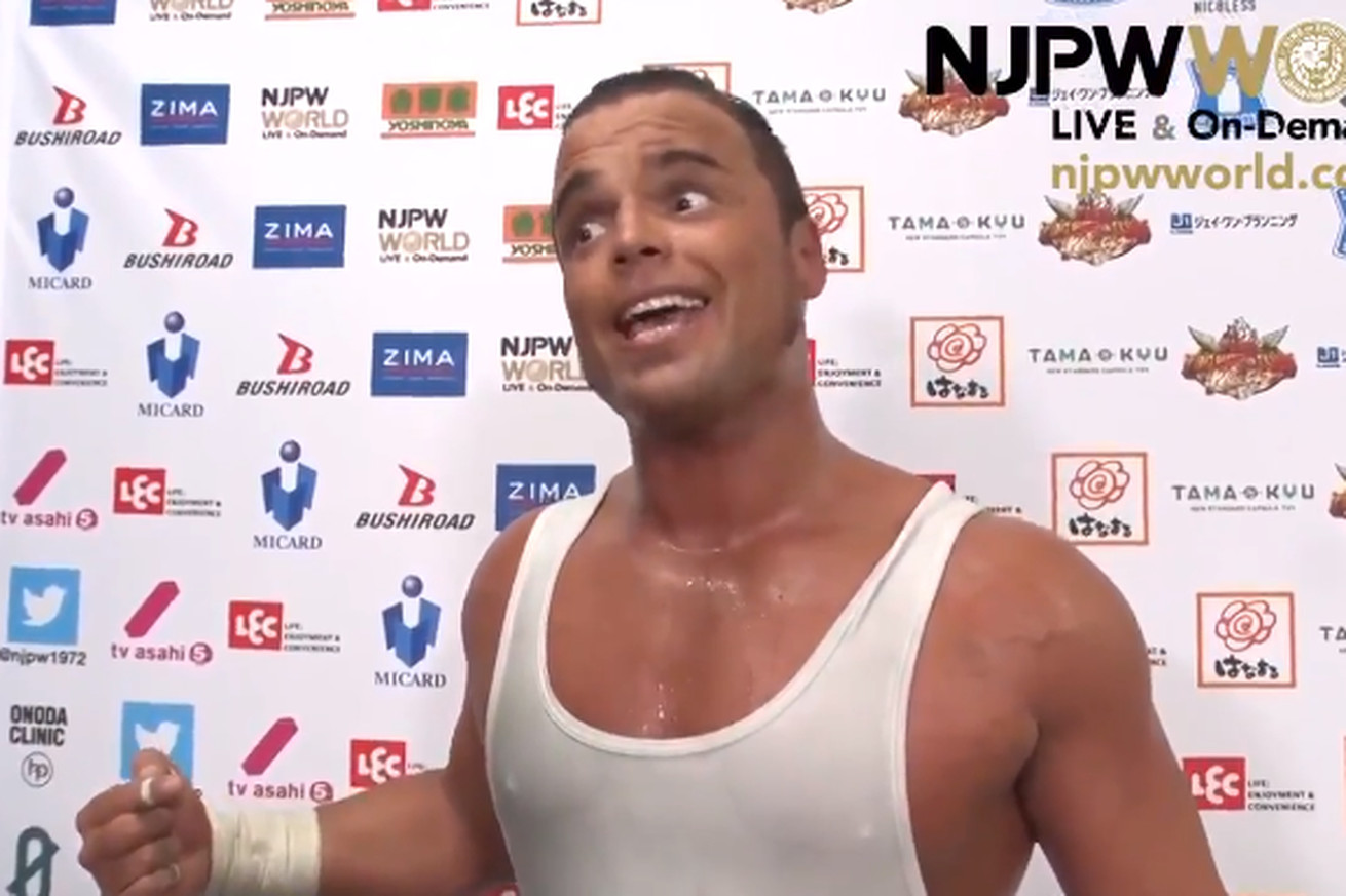 Untitled.0 - This pro wrestler pooped himself mid-match, then turned it into the promo of the year