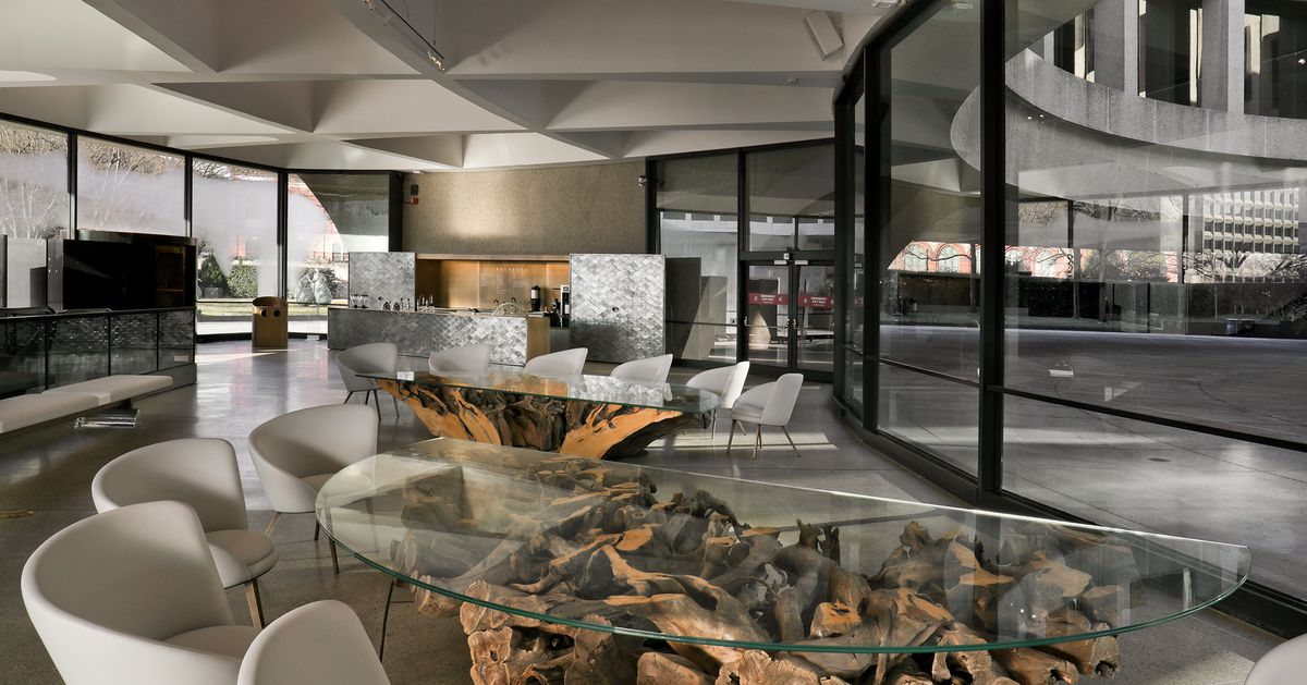 Hirshhorn Museum Reveals Redesigned Lobby Dolcezza Coffee