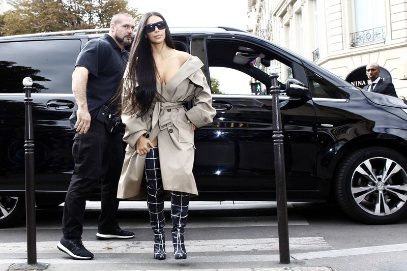 Kim Kardashian rebranded her image after she was robbed at gunpoint in Paris in 2016.