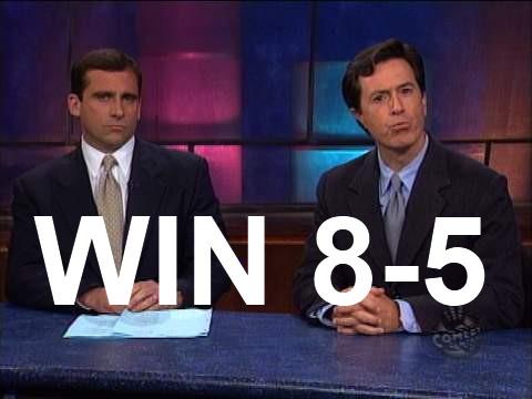 WIN, 8-5