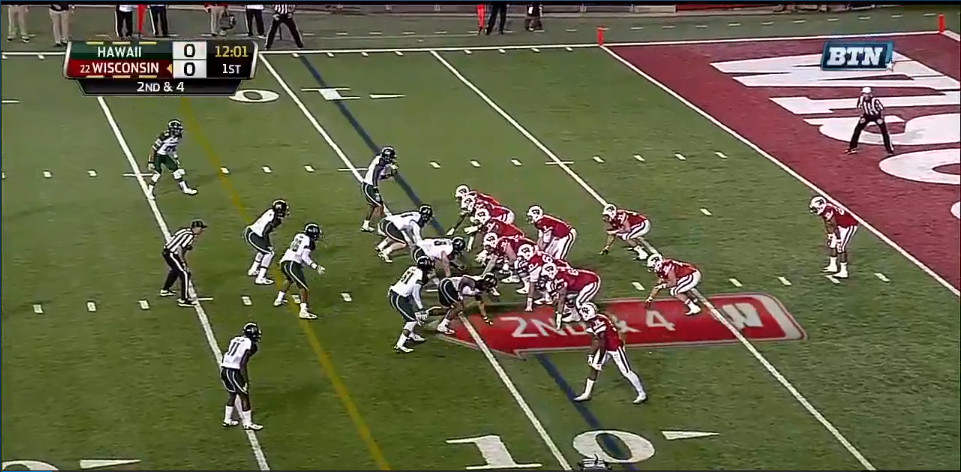31 personnel first play