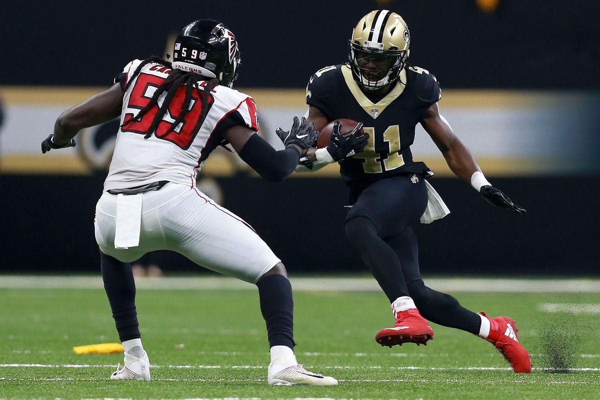 Atlanta Falcons vs New Orleans Saints