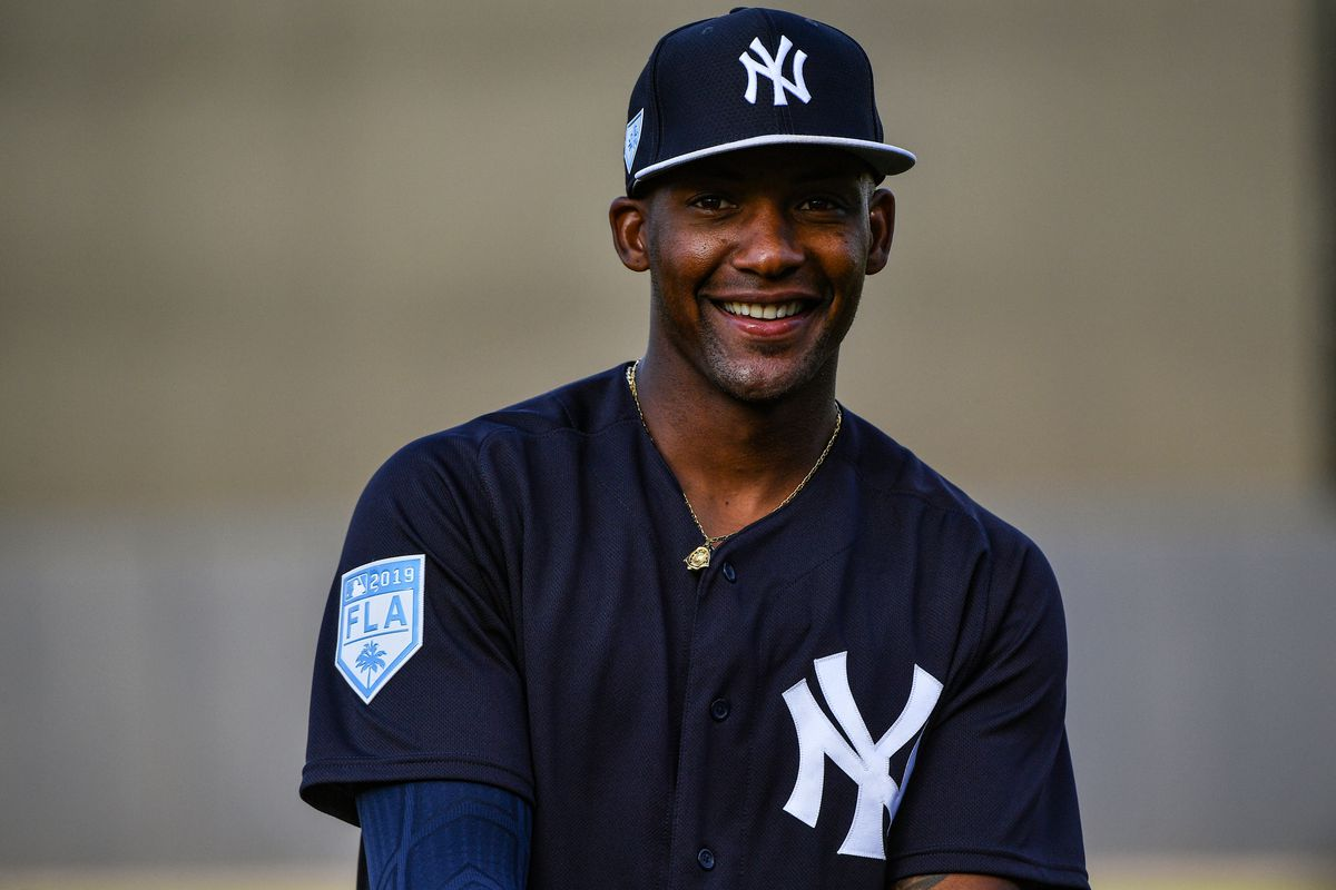 2f5974bc1 Miguel Andujar, New York Yankee third baseman, out for year - Lone ...