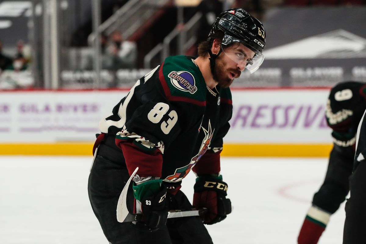 NHL: APR 19 Wild at Coyotes