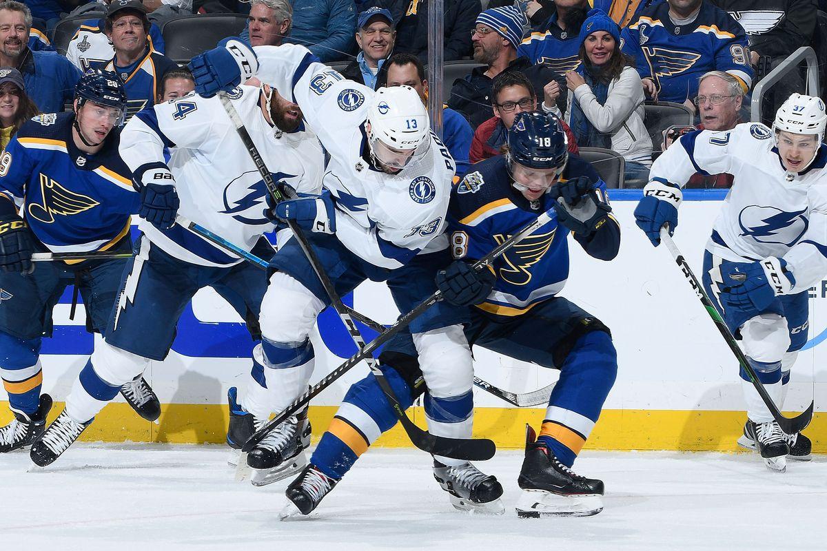 Tampa Bay Lightning v St Louis Blues