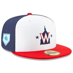 """<a class=""""ql-link"""" href=""""http://sbnation.fanatics.com/MLB_Washington_Nationals/Washington_Nationals_New_Era_2019_Spring_Training_59FIFTY_Fitted_Hat_%E2%80%93_Red_White?utm_source=MLB2019SpringTrainingCaps"""" target=""""_blank"""">New Era 2019 Spring Training 59FIFTY Fitted Hat for $39.99</a>"""