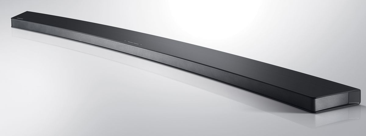 Samsung releasing a curved soundbar to match its curved TV - The Verge