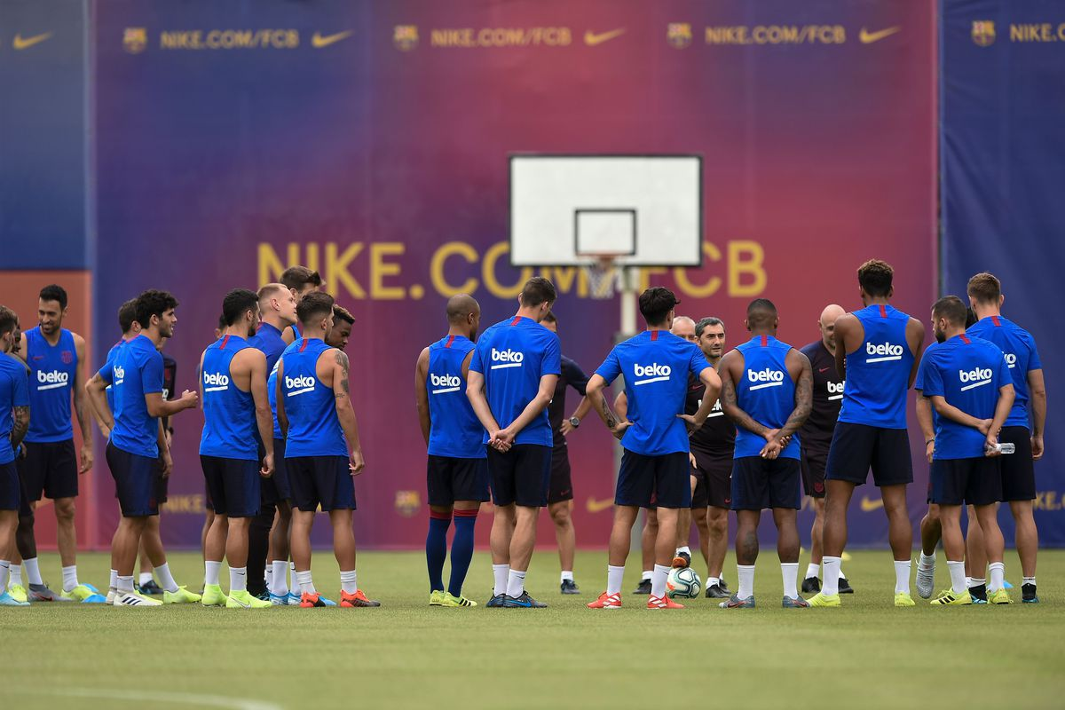 best sneakers d517a b08aa FC Barcelona News: 31 July 2019; Training Continues in ...