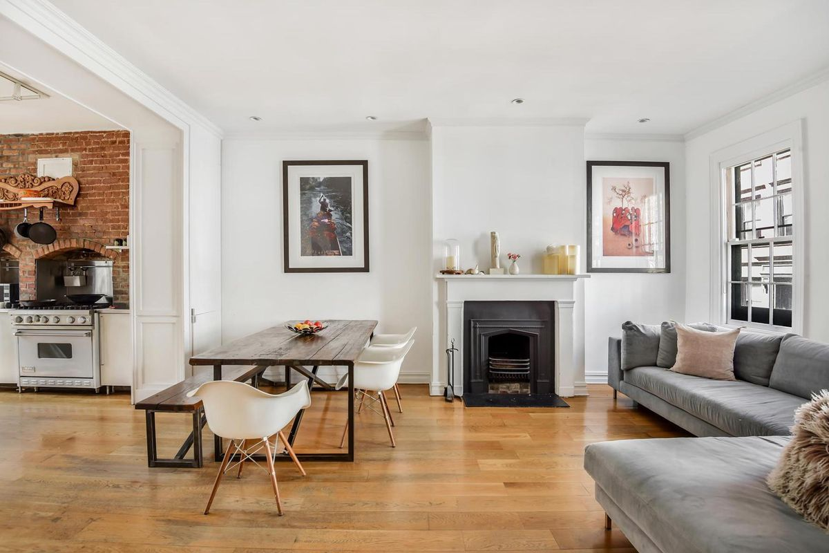 172 year old west village townhouse on charming gay street for Teich design west village