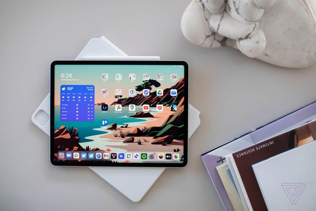 The iPad Pro with the Liquid Retina XDR display
