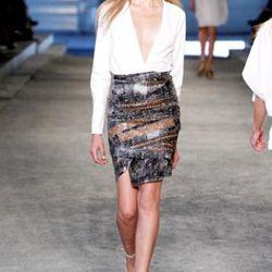 Edun top, $114; skirt, $299