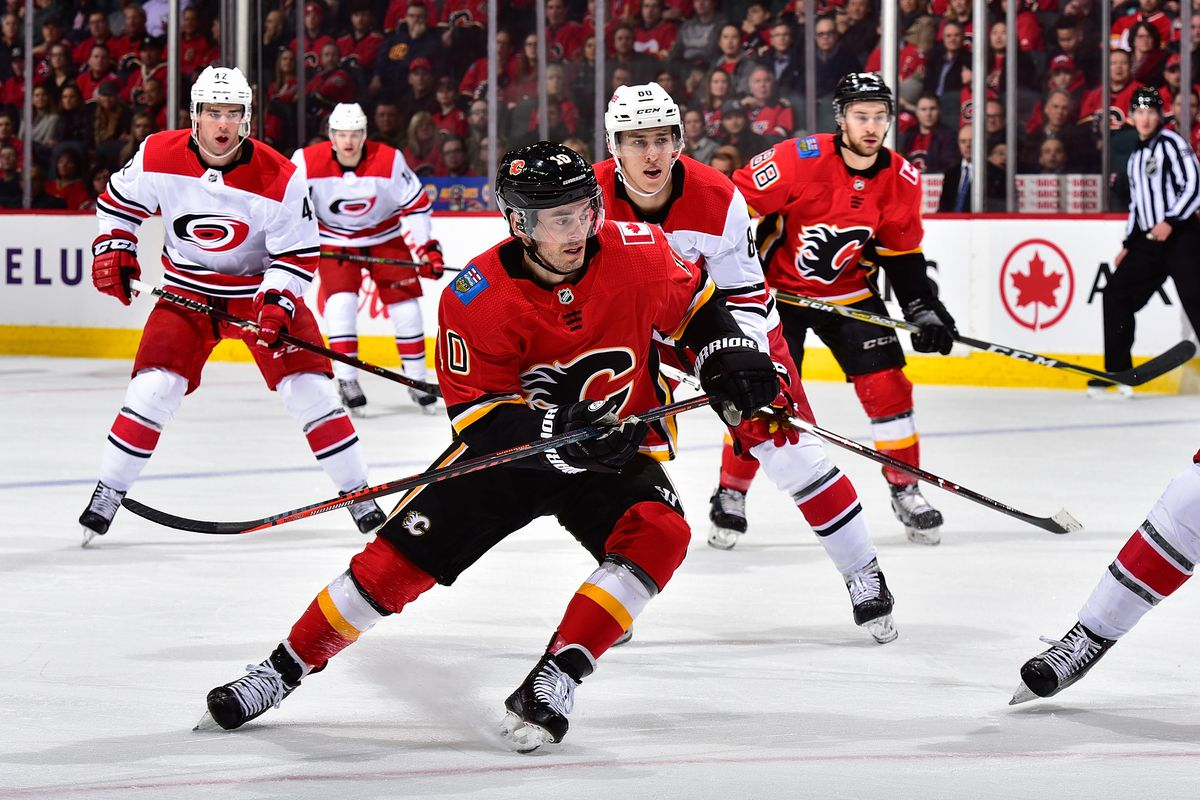 Carolina Hurricanes v Calgary Flames