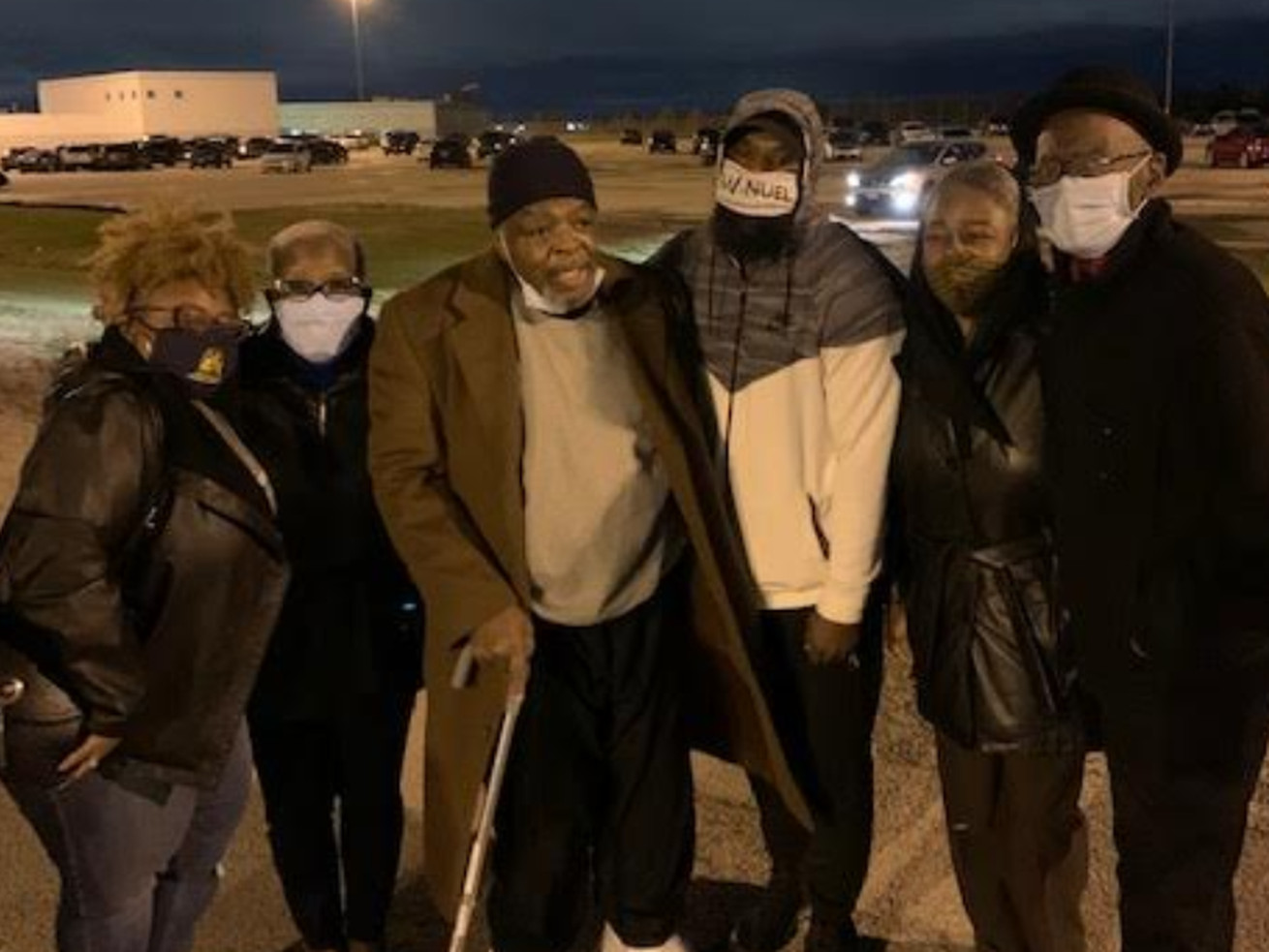 Torture victim Robert Smith, who served 33 years in prison for a double murder he did not commit, was released from prison Oct. 23. Provided photo