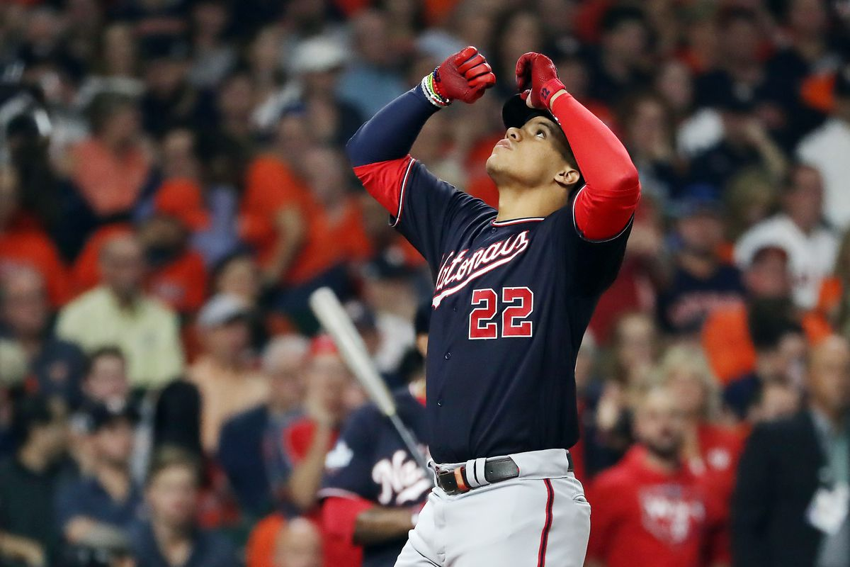 2019 World Series Washington Nationals Hold On For 5 4 Win Over