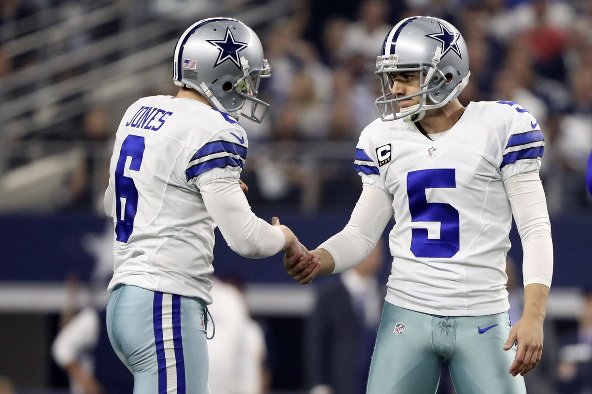 37bd035a9 The downside of a great kicker (Dan Bailey) and punter (Chris Jones) for the  Cowboys