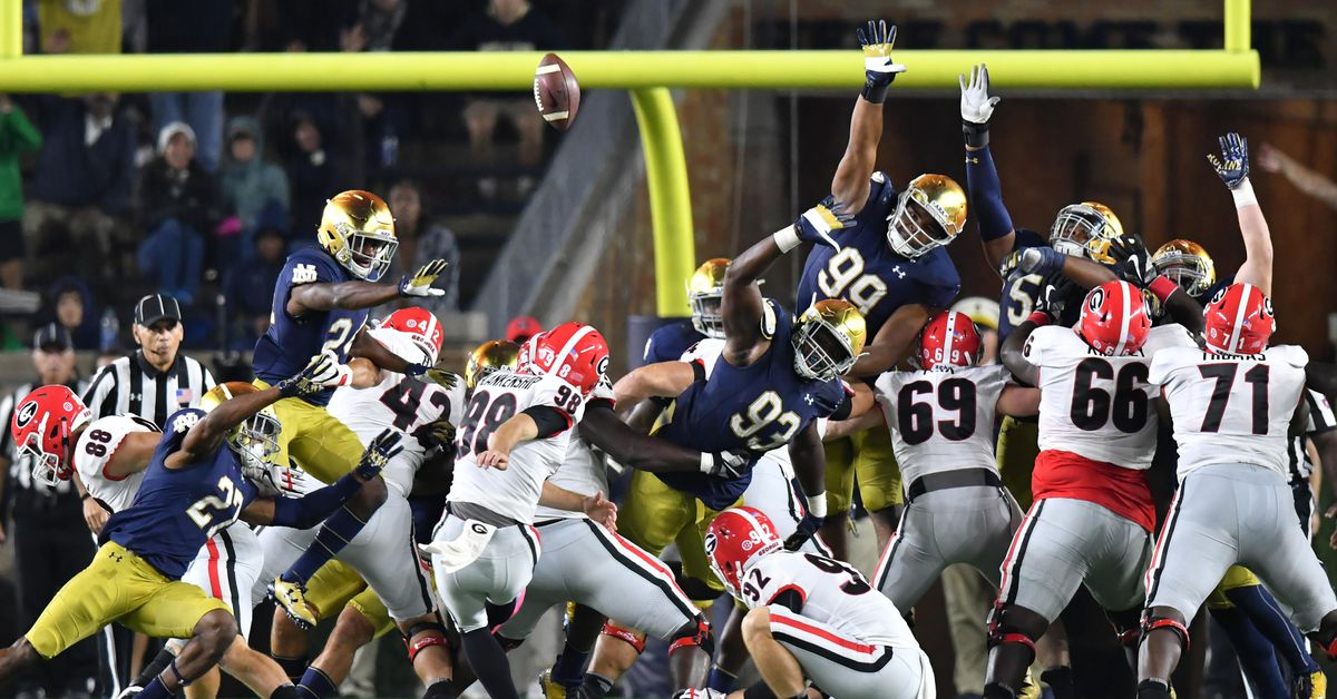 Notre Dame is listed as double digit underdogs to the ...