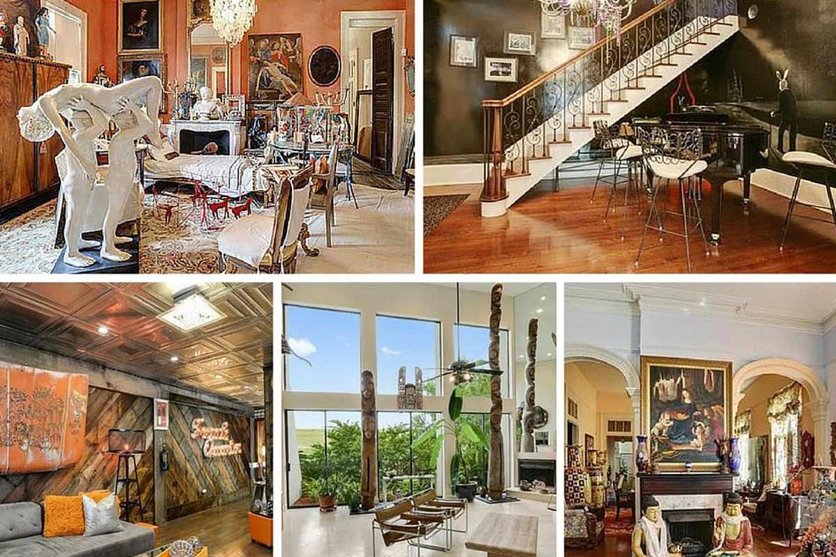 7 Homes On The Market With Weird Wonderful Decor Curbed New Orleans