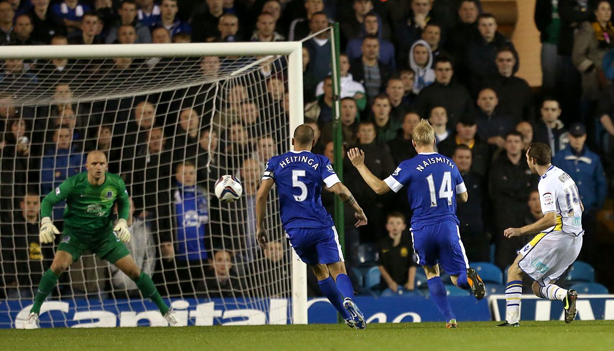 Soccer - Capital One Cup - Third Round - Leeds United v Everton - Elland Road