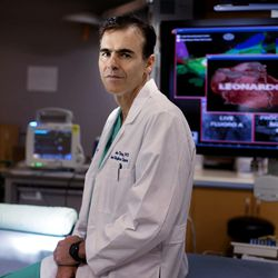 Dr. John Day is a cardiologist and Medical Director of Heart Rhythm Services at Intermountain Medical Center. Day is photographed at the medical center in Murray on Thursday, Sept. 8, 2016.