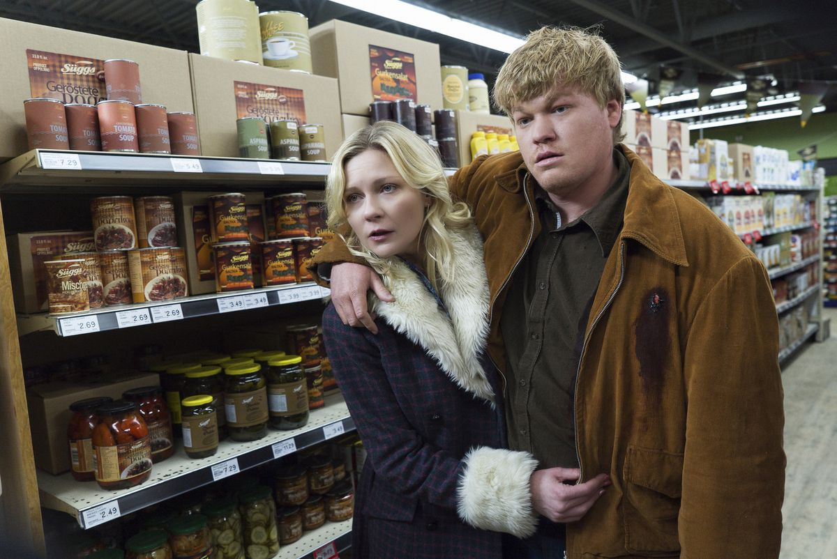 Peggy and Ed on Fargo