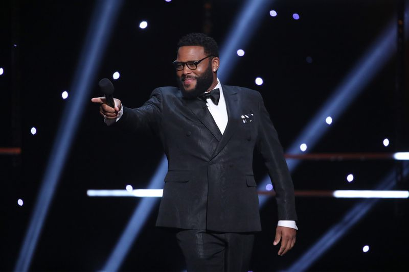 """Host Anthony Anderson speaks onstage during the 51st NAACP Image Awards. The actor took home the award for best actor in a TV comedy for his role in the hit TV series """"black-ish."""""""