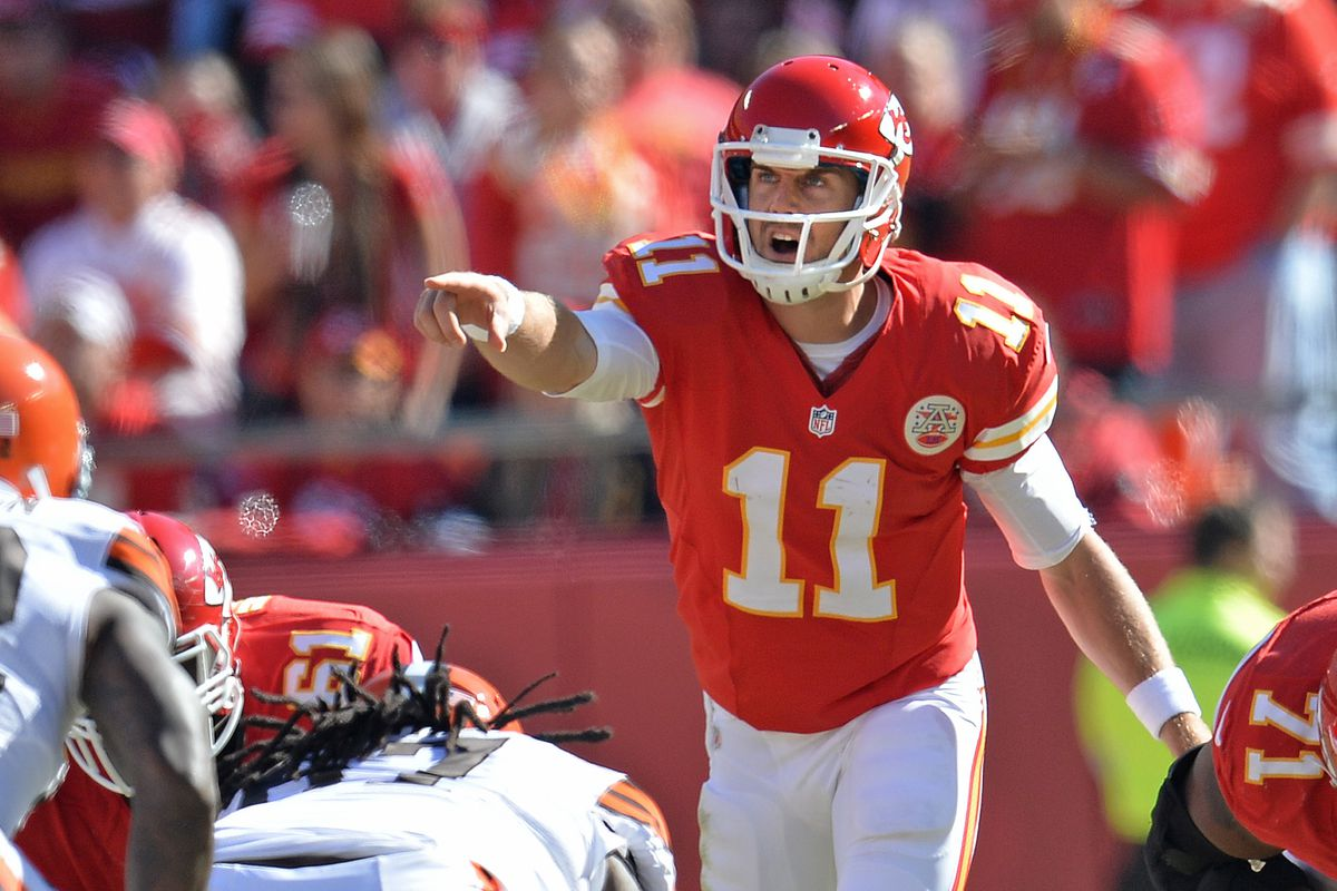 super popular 1012b 2442a What!? Chiefs reportedly have deal in place to trade QB Alex ...