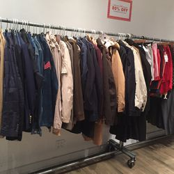 Men's jackets for 80% off