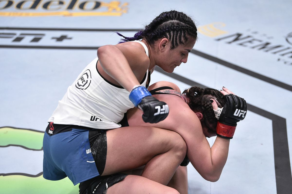UFC on ESPN 10 in Tweets: Pros react to Cynthia Calvillo's ...