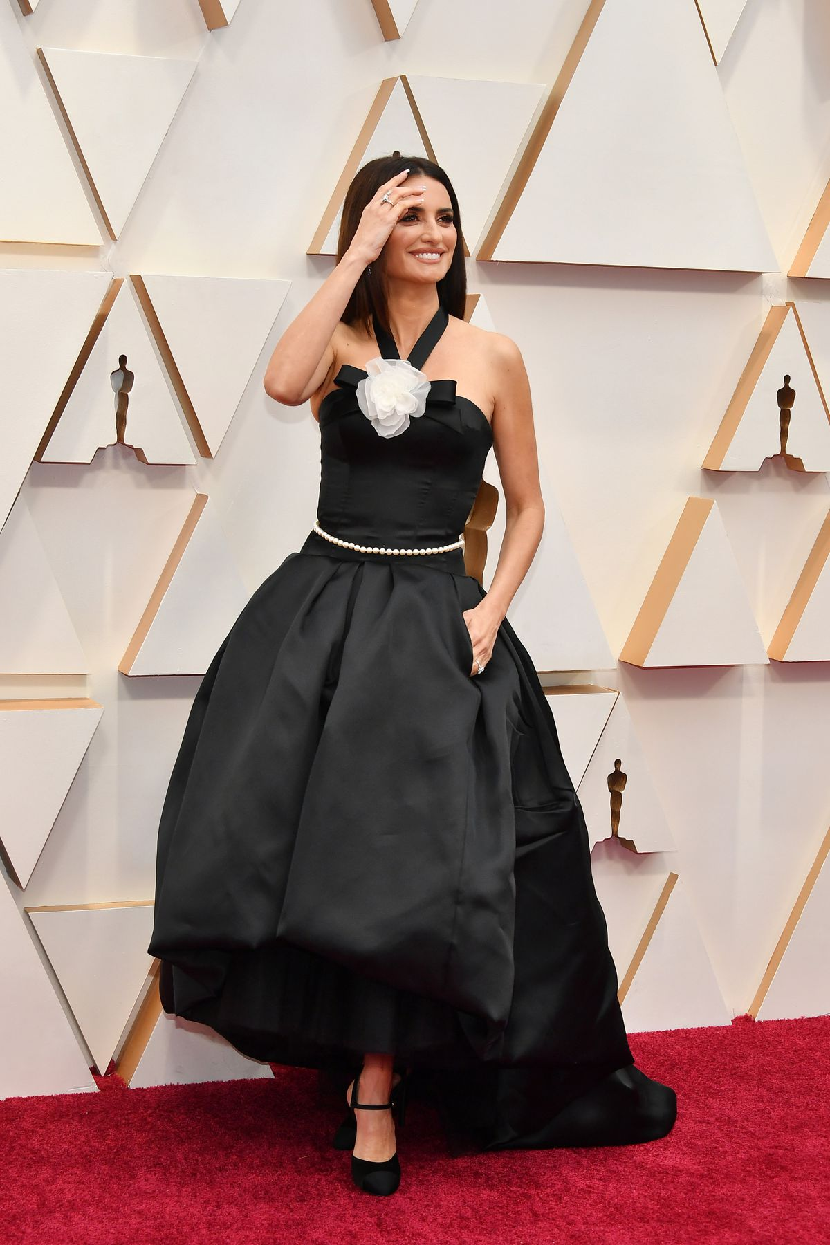 Penélope Cruz wears Chanel as she attends the 92nd Annual Academy Awards at Hollywood and Highland on Sunday night.