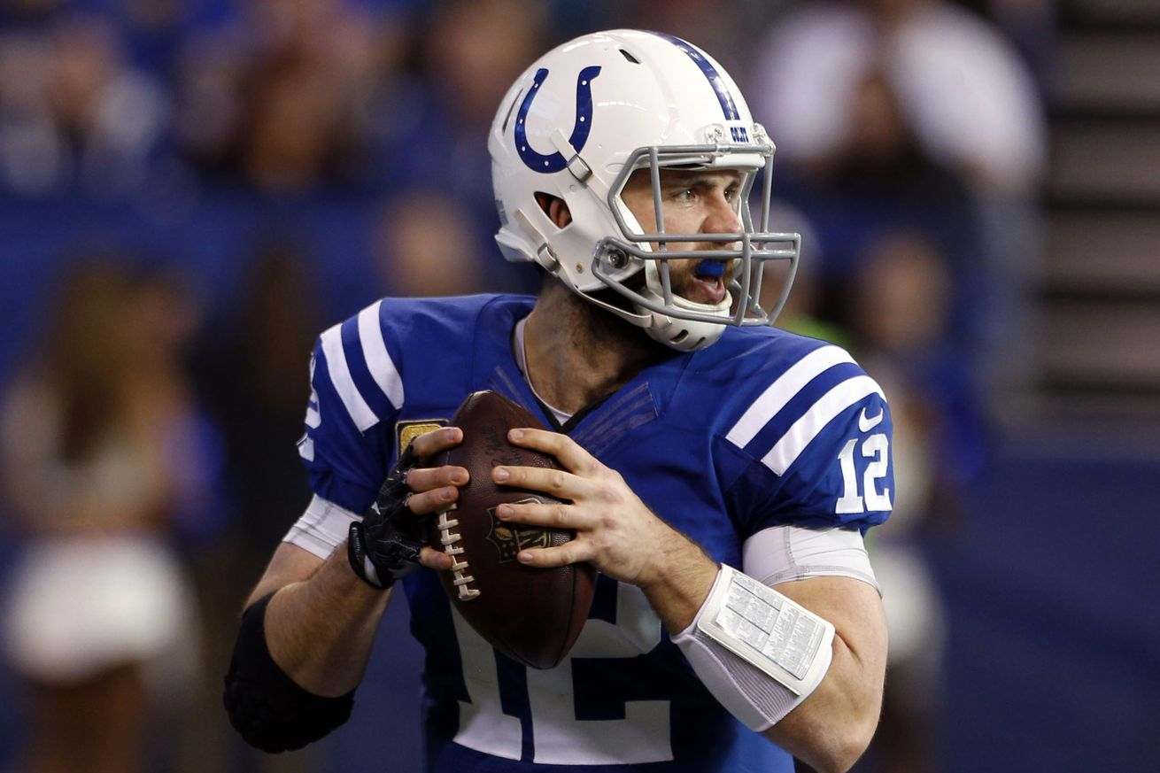 Colts will get to wear their color rush uniforms this year