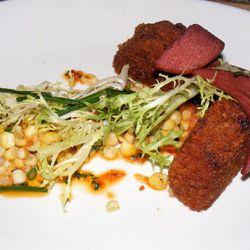 """Crispy pork shank from Ma Peche by <a href=""""http://www.flickr.com/photos/37619222@N04/5962340088/in/pool-eater/"""">moosefan68</a>."""