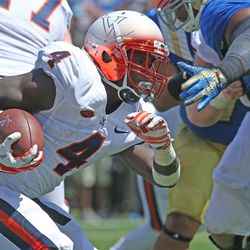 UVA RB Taquan Mizzell (Stephen Dunn-Getty Images)