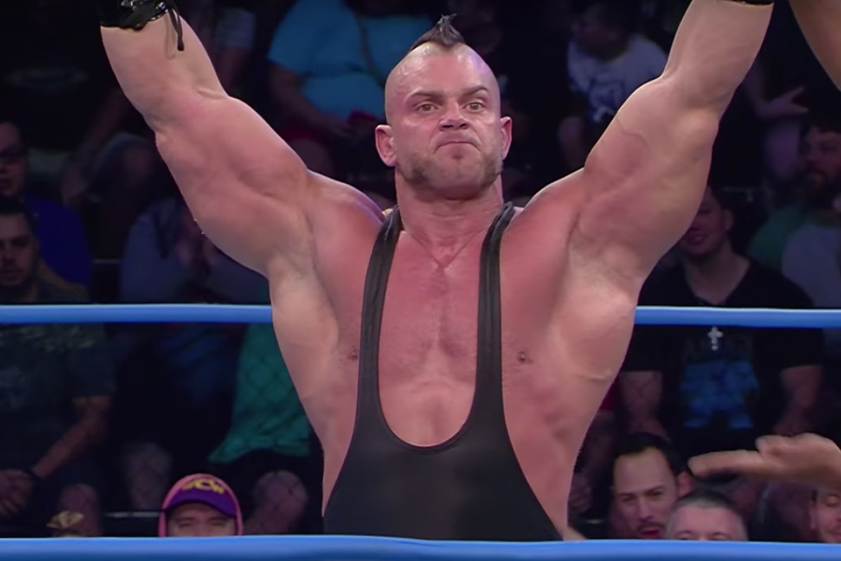 Image result for brian cage impact wrestling debut