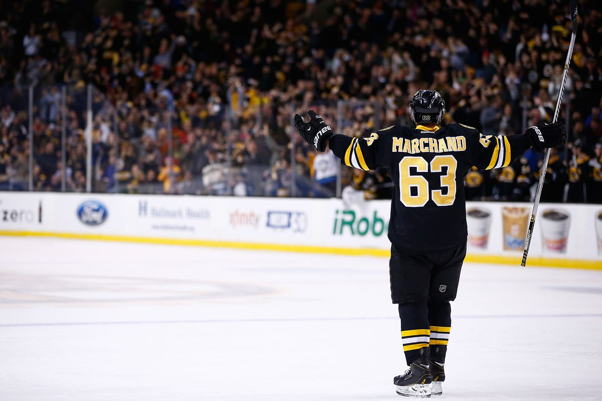 Image result for brad marchand scores