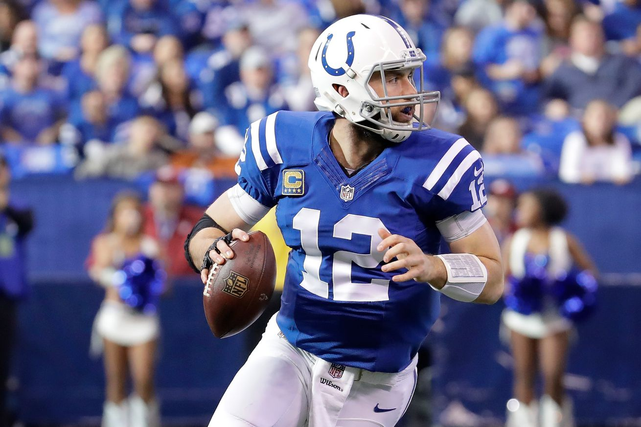 Colts have one of NFL's best quarterback situations thanks to Andrew Luck