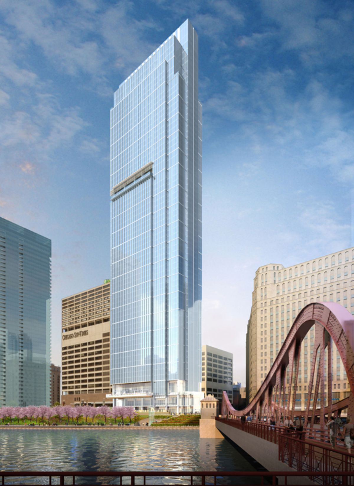 Crews Get To Work On 60 Story Wolf Point East Tower