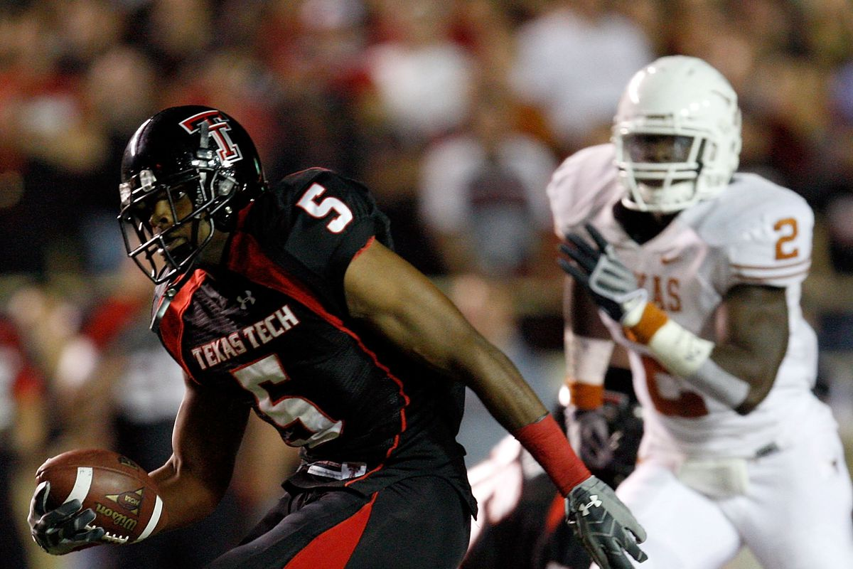 Only Michael Crabtree Days Until Texas Tech Football Viva The Matadors