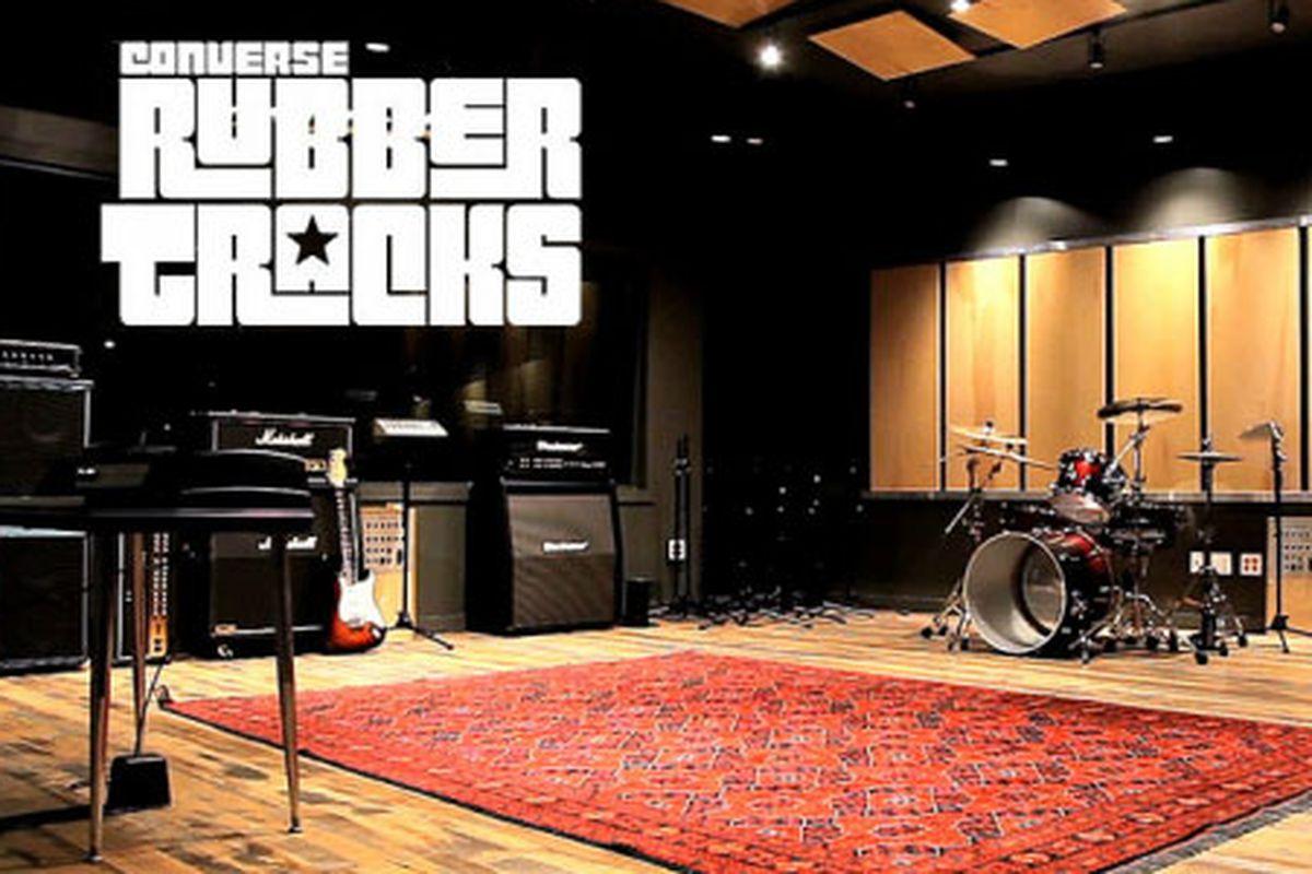 "A Converse Rubber Tracks studio in Brooklyn. Image via <a href=""http://mcalisterdrive.com/news/converse-rubber-tracks-new-single/"">McALISTER DRIVE</a>"